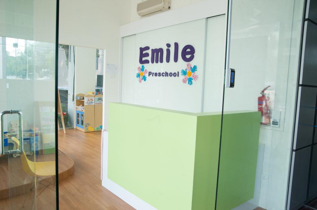Emile Preschool Front Desk Area